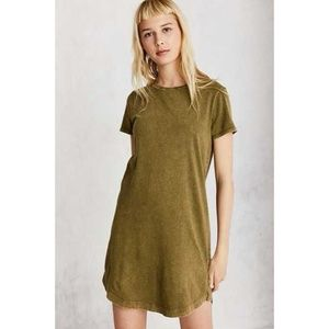 BDG | Urban Outfitters Olive Green T-Shirt Dress